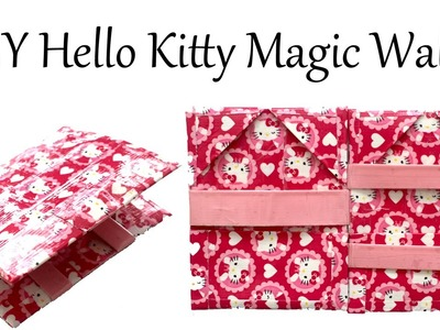How To Make Basic Magic Wallet Hello Kitty Duct Tape Tutorial