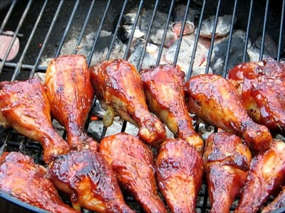 How to make BBQ Chicken - Easy Basic BBQ Grilled Chicken