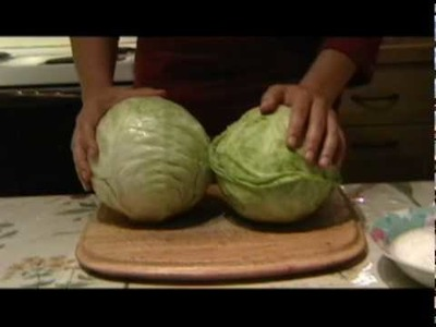 How to make pickled cabbage