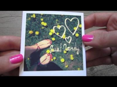 How To: Print Your Instagram.Facebook photos as Polaroids! (Polaroid Fotobar!)