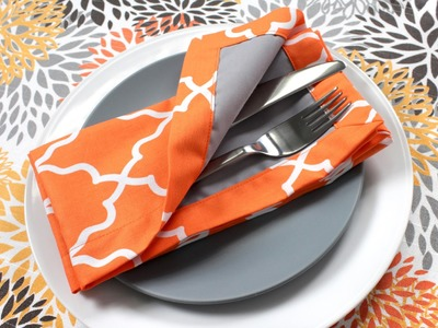 How to Sew Fabric Napkins (Tutorial)