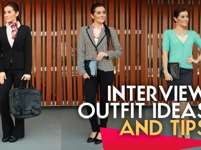 JOB INTERVIEW OUTFIT IDEAS AND TIPS VIDEO BY CYNBEAUTY