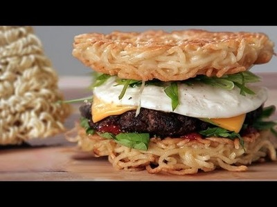 Make a Ramen Burger at Home! | Food Trends | Food How To