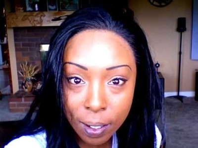 MY FIRST SYNTHETIC LACE FRONT WIG.