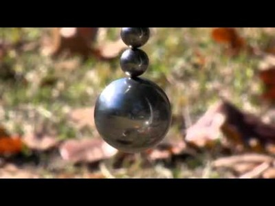 Neodymium Magnets Magnetic Ball Spins for over five minutes LOW FRICTION BEARING