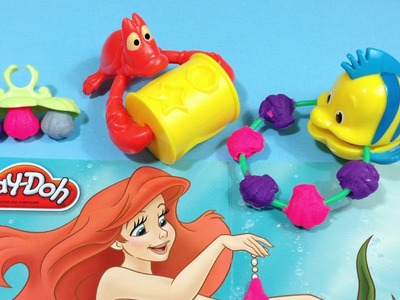 PLAY-DOH - Disney Princess: Ariel's Jewels and Gems Set-Sparkle Jewelry-Hasbro-MsDisneyReviews
