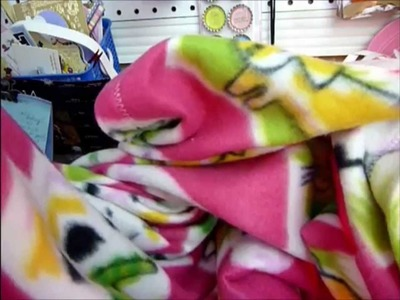 Quick Easy Big Blanket for your Child. Kid | Video Sewing Tutorial