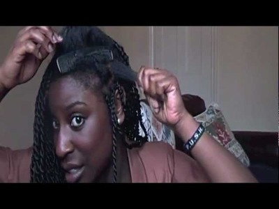 SENEGALESE TWISTS TUTORIAL - HOW TO BRAID YOUR OWN HAIR
