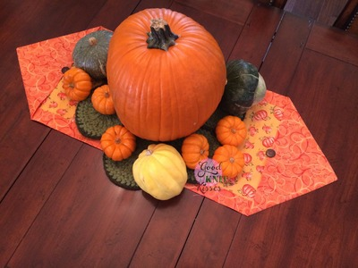 Sew | Quick 10 minute Table Runner