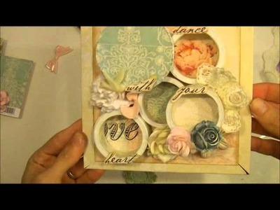 Shabby Chic Book Stack Tutorial - part 2