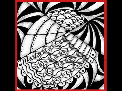 Spooled - A Super Easy Zendoodle Pattern