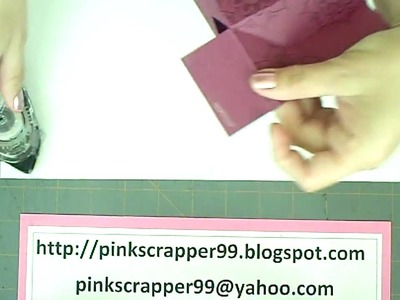 Stampin' Up Favor.Gift Bag