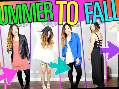 Summer to Fall | Transition Outfits