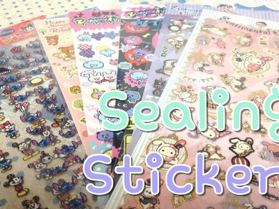 TUTORIAL: Sealing Paper Stickers