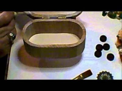 Altered Wooden Trinket Box Tutorial, Part 1 - Jennings644