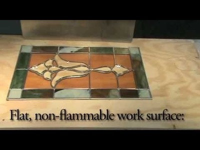 Building a Stained Glass Window with the Professional Fast Cure Method