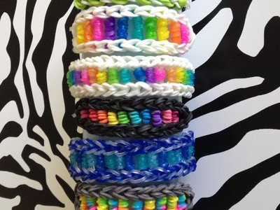 Candy Twist Rainbow Loom Bracelet
