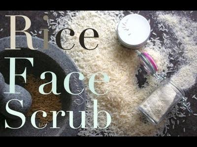 DIY Beauty: Rice Face Scrub