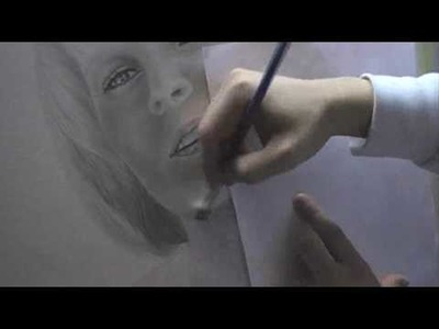 Drawing a Portrait - 6.Shade with Brush