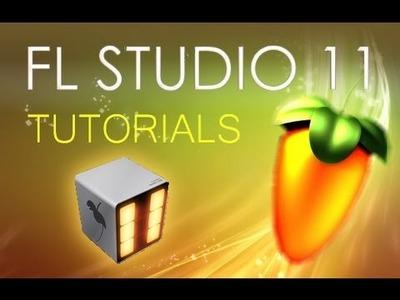 FL Studio 11 - How to Make a Beat [Beat Making Tutorial]