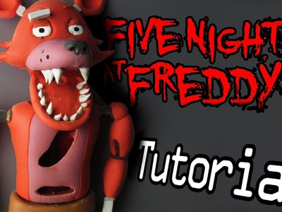 FOXY Five Nights At Freddy's Polymer Clay Tutorial | Porcelana Fría. Plastilina