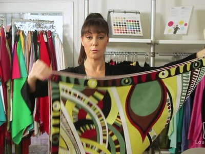 Fran Drescher's Costume Designer Shows You How to Tie the Perfect Scarf!