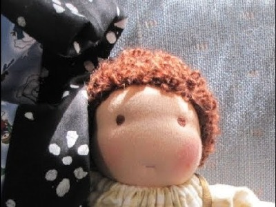 Free tutorial how to sew eyes on dolls