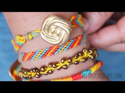 Friendship Bracelets: An Easy Tutorial