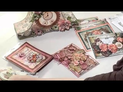 Heartfelt Creations Emboss & Create Embellishments with the Once Upon a Time Collection