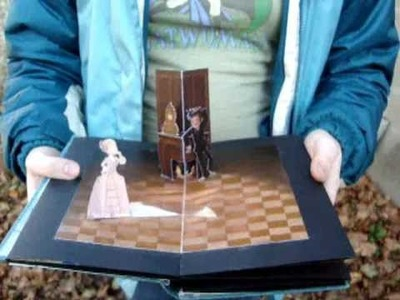 Home-made Doctor Who pop up book.