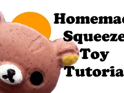 Homemade Rilakkuma Squeeze Toy Tutorial