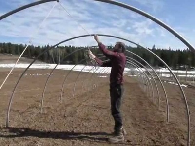 How to Build a Hoophouse