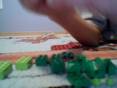 How to build a lego alligator