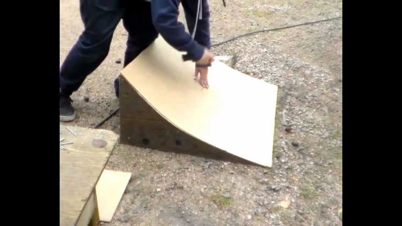 How to build a simple rc car ramp in 30 min for $10