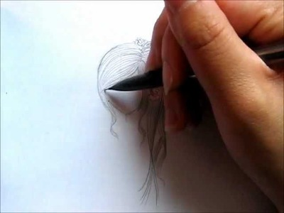 How to draw a Summer Hairstyle