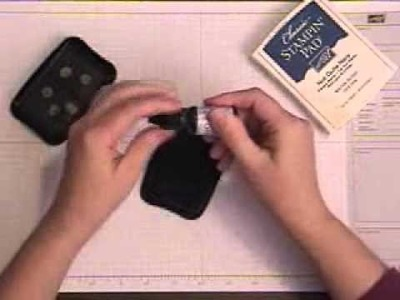 How to Ink Stamp Pads