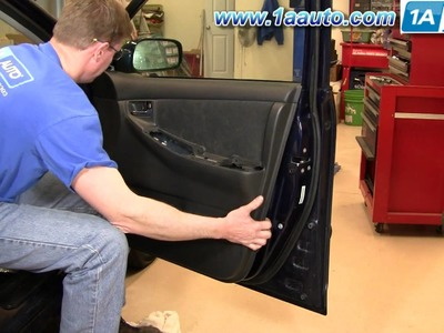 How To Install Replace Door Panel Toyota Corolla 03-08 1AAuto.com