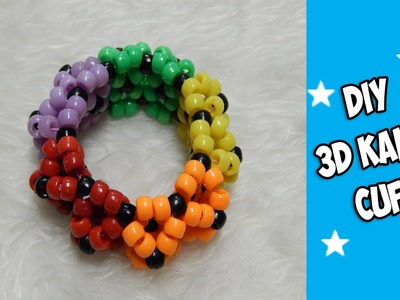 How to Make a 3D Kandi Cuff - [www.gingercande.com]