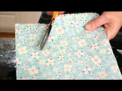 How to make a birthday pennant banner from Plaid TV