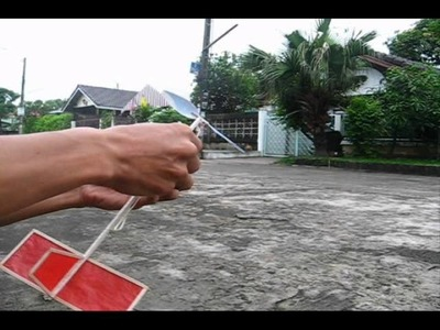 How to make a Easy II rubber airplane#7 8