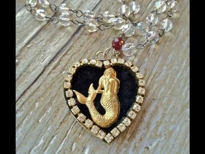 How to make a Mermaid pendant
