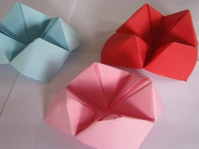How To make a Paper chatter box