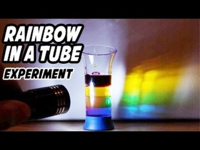 How to Make a Rainbow in a Tube