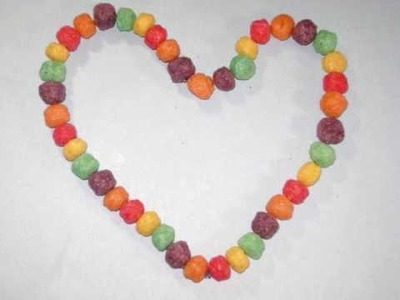 How to make an Edible Cereal Necklace Treat for your Child - EP