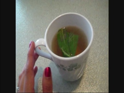 How to Make Asian Fat Burning Green Tea (Requested Video)