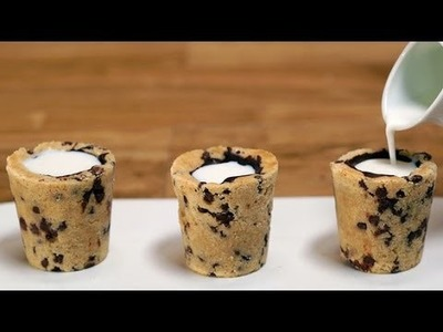 How to Make Dominique Ansel's Milk and Cookie Shots | Eat the Trend