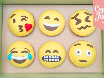 How to Make Emoji Cupcakes | Cupcake Jemma