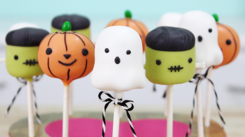 How to Make Halloween Cake Pops!