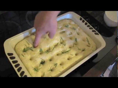 How to make Italian Focaccia Bread by Hendrik