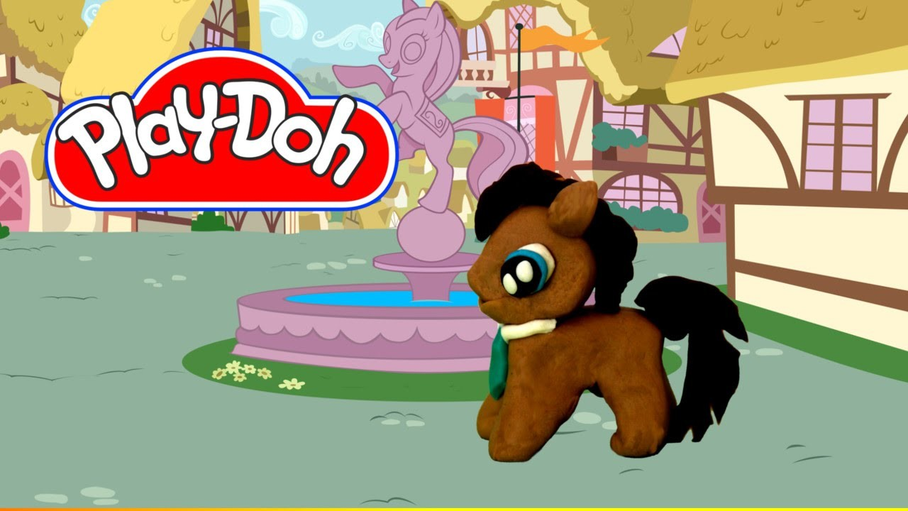 How to make Play Doh Dr. Whooves My Little Pony